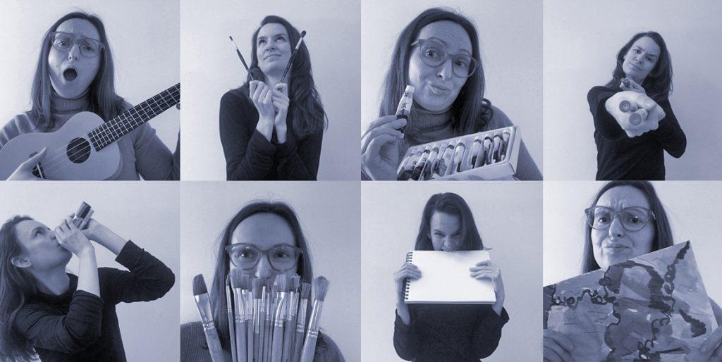 Joanna Wróblewska and Ineke Hulselmans - Expressive Arts facilitators from Yohaku Art Collective.
