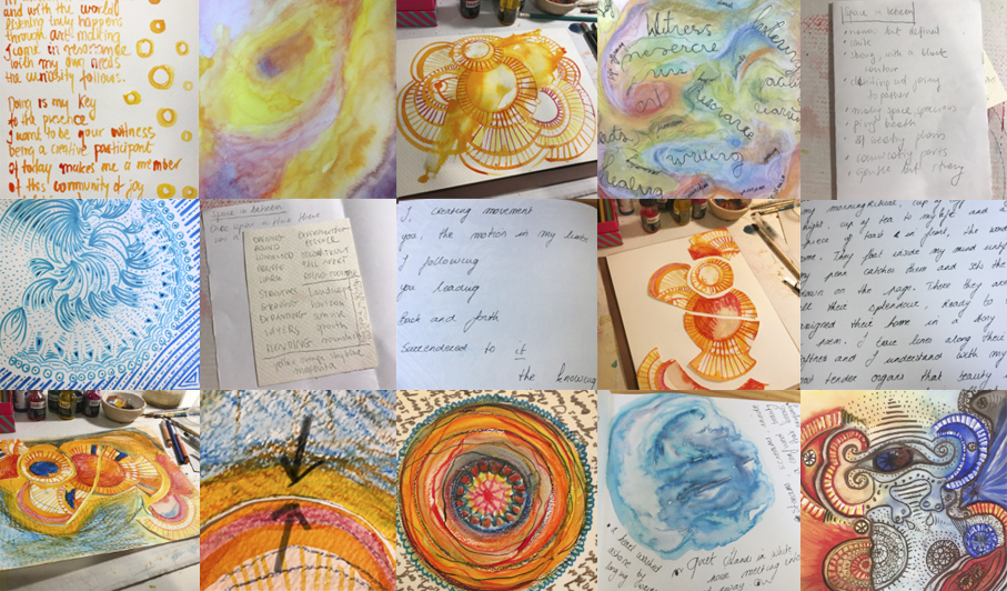 We developed Yohaku Art Collective using the Expressive Arts methodology. The artistic process was at the centre of every step we took in exploring and shaping our business and our collaboration.