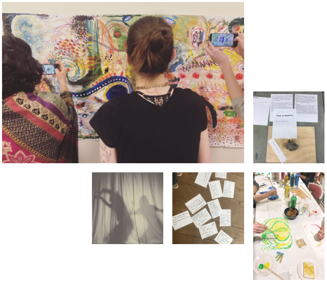 It has been two years since we took our first step at the Yohaku Art Collective. In these two years, we have organized multiple workshops and events using the method of Expressive Arts. All of it in the playful spirit of being open, curious, and receptive to what the arts can bring into our lives.