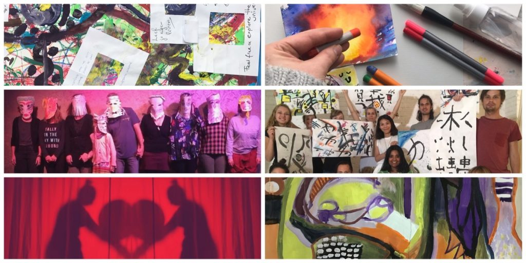 Expressive Arts workshops and other events offered by Yohaku Art Collective are playful, inspiring, and extremely resourceful.